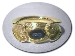 18 ct Gold 9/9/99 Ring.