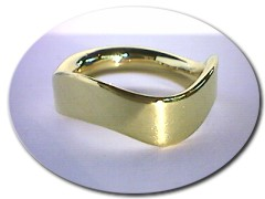 18 ct Gold Wedding Ring.